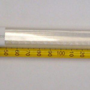 TERMÓMETRO DE MERCURIO. RANGO: -10 A 250 °C ± 1 °C. MARCA AMARELL