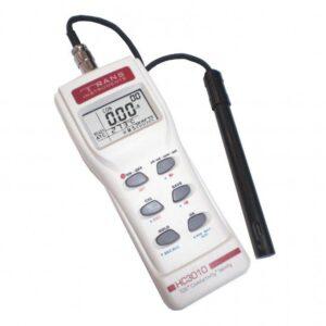 MEDIDOR DE CONDUCTIVIDAD DIGITAL PORTATIL MODELO HC 3010 MARCA TRANS INSTRUMENTS