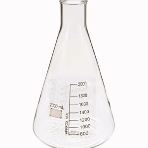 ERLENMEYER GRADUADO 2000 mL MARCA CITOTEST