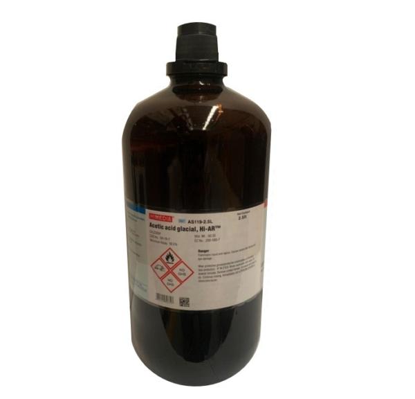 Acido acético glacial AS119