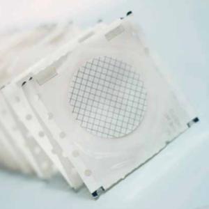 Membrana cuadriculada blanca