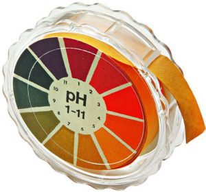 Papel indicador de pH